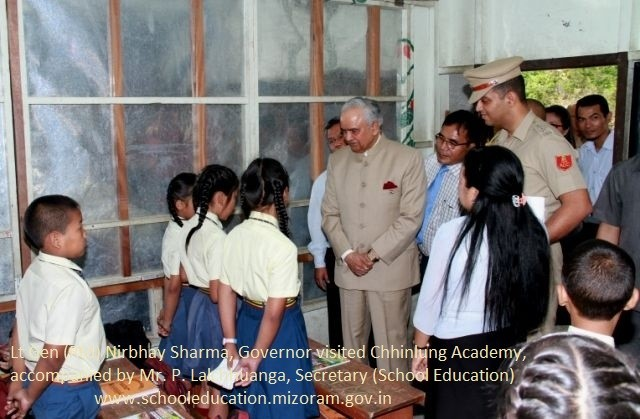 Governor visiting Schools